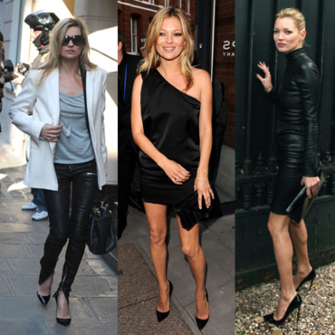 Kate Moss et ses Louboutin pigalle