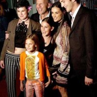 Photo : Bruce Willis, Demi Moore, Ashton Kuthcher, Rumer, Sout Larue, Tallulah Belle