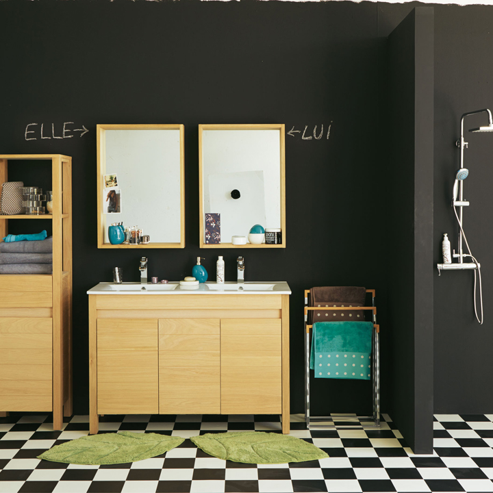 clairage salle de bain alin a. Black Bedroom Furniture Sets. Home Design Ideas