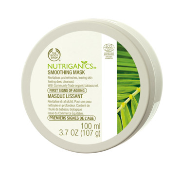 The Body Shop masque lissant visage anti-rides bio Nutriganics