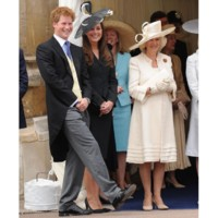 Photo : le prince Harry, Kate Middleton et Camilla Parker-Bowles