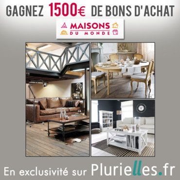 gagnants du concours d co maisons du monde jeux. Black Bedroom Furniture Sets. Home Design Ideas