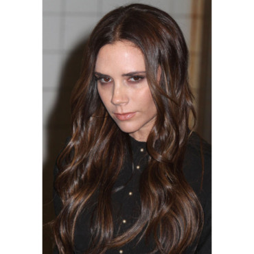 Victoria Beckham Britain's Great Campaign in New York février 2012 beau brushing contre grise mine