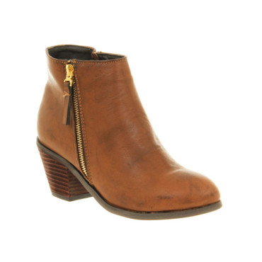 Boots cognac sur Office.co.uk 81 euros