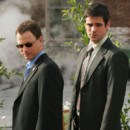 Gary Sinise et Eddie Cahill des Experts Manhattan