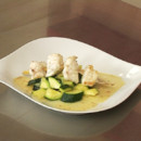 brochettes lotte courgettes