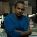 Hill Harper des Experts Manhattan prend la pose
