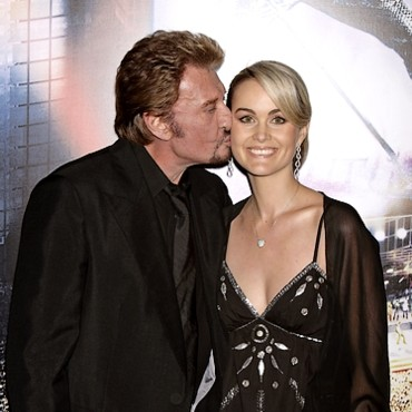 Johnny Hallyday et Laeticia