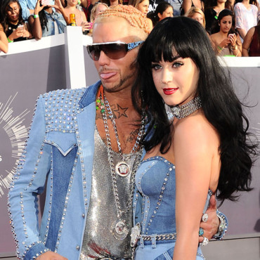Katy Perry et Riff Raff aux MTV Video Music Awards le 24 août 2014 à Los Angeles