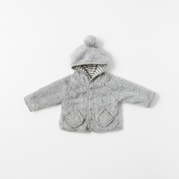 Manteau à capuche collection Mini Zara à 17,95 euros