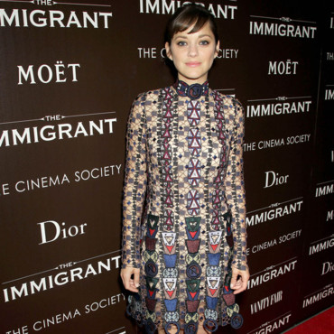 "Marion Cotillard pour la Première du film ""The Immigrant"" à New York City le 6 mai 2014."