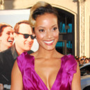 Selita Ebanks, attention aux cheveux bicolores