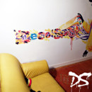 Street art dco par Dco Spray