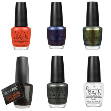 Vernis à ongles The Amazing Spider-Man Collection by OPI. Chaque vernis coûte 13,90 €.