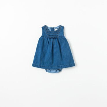 Robe en jean collection Mini Zara à 15,95 euros