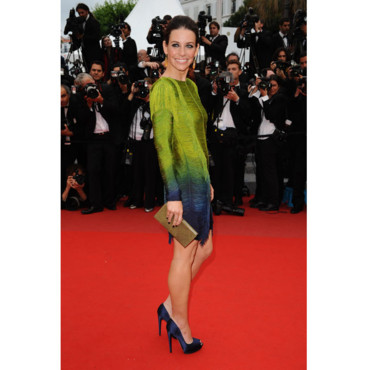 Cannes 2010 Evangelinne Lilly en Pucci