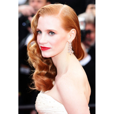 Jessica Chastain égérie Yves Saint Laurent shooting Cannes