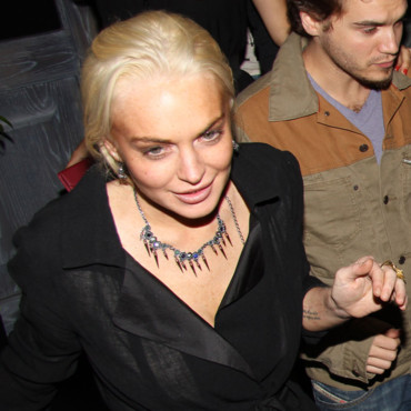 Lindsay Lohan, attention au front !