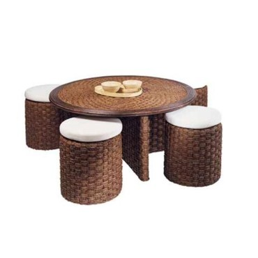 table poufs - Conforama