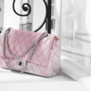 Sac classic Chanel rose