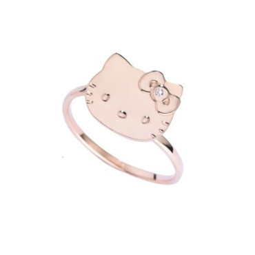 Saint Valentin bague Hello Kitty