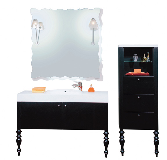 meuble de salle de bain pyram objet d co d co. Black Bedroom Furniture Sets. Home Design Ideas
