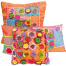 Coussin Home Autour du Monde Petites fleurs