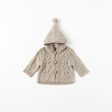 Veste à capuche collection Mini Zara 22,95 euros