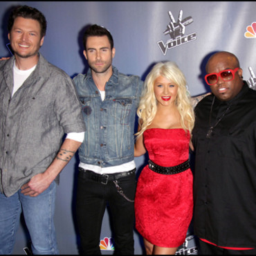 Le jury de The Voice US
