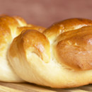 Brioche en gros plan