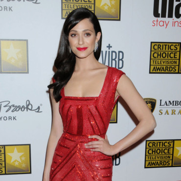 Emmy Rossum ultra-glamour au Critics Choice Television Awards 2013