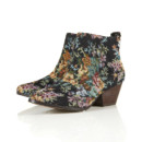 Boots western effet tapisserie Topshop 81 euros