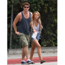 Liam Hemsworth et Miley Cyrus