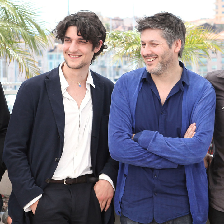 Louis Garrel et Christophe Honoré au Festival de Cannes 2011