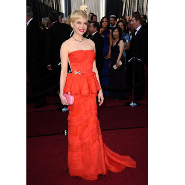 Oscars 2012 Michelle Williams en Louis Vuitton