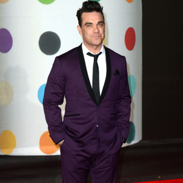Robbie Williams au Brit Awards 2013
