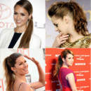 Jessica Alba, Charlotte Casiraghi : la queue de cheval, la coiffure casual chic des people 