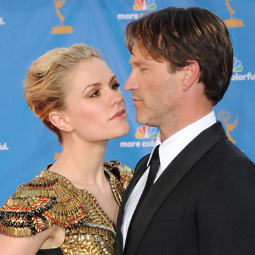 Anna Paquin et Stephen Moyer de True Blood aux Emmy Awards 2010