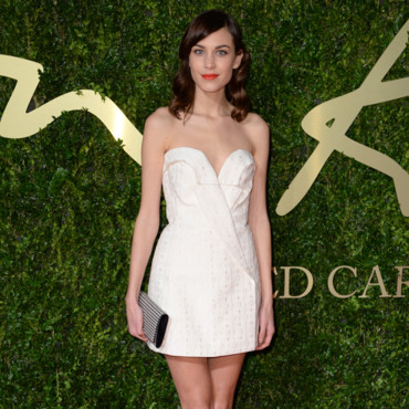 Alexa Chung au British Fashion Awards 2013 à Londres le 2 décembre 2013