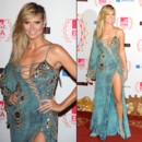 Heidi Klum en robe de soirée Versace au MTV Europe Music Awards 2012