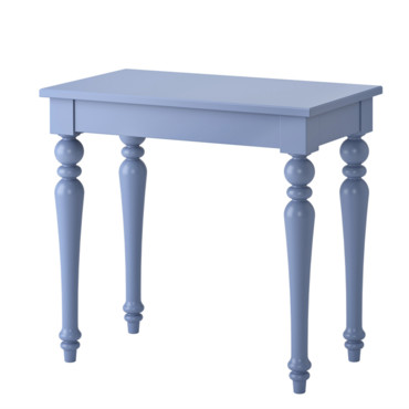Isala table d'ordinateur portable bleu Ikea à 189 euros