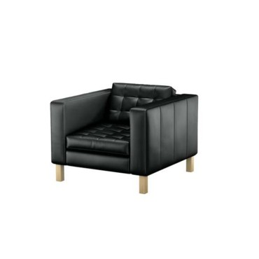 le meilleur d 39 ikea en avant premi re le fauteuil en cuir d 39 ikea d co. Black Bedroom Furniture Sets. Home Design Ideas
