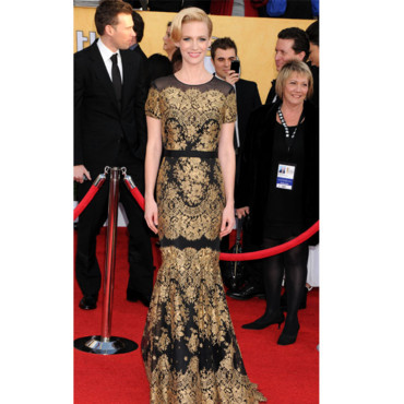 SAG Awards January Jones en Versace