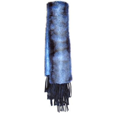 Hartic scarf blue Lollipops