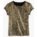 Top à sequins Tex de Carrefour à 24,90 euros
