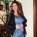 Poppy Montgomery enceinte