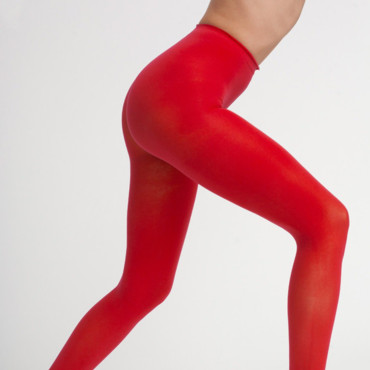 Collants rouges American Apparel