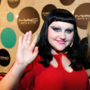 Beth Ditto lancement collection MAC flashy à Berlin juin 2012