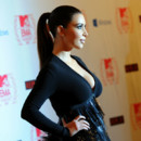 La queue de cheval chic de Kim Kardashian