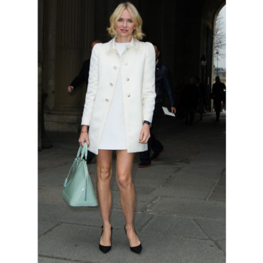 Naomi Watts au défilé Louis Vuitton